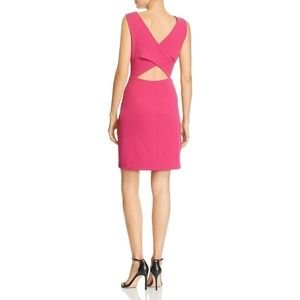 NEW Betsey Johnson Cut-Out Back Pink Dress 8